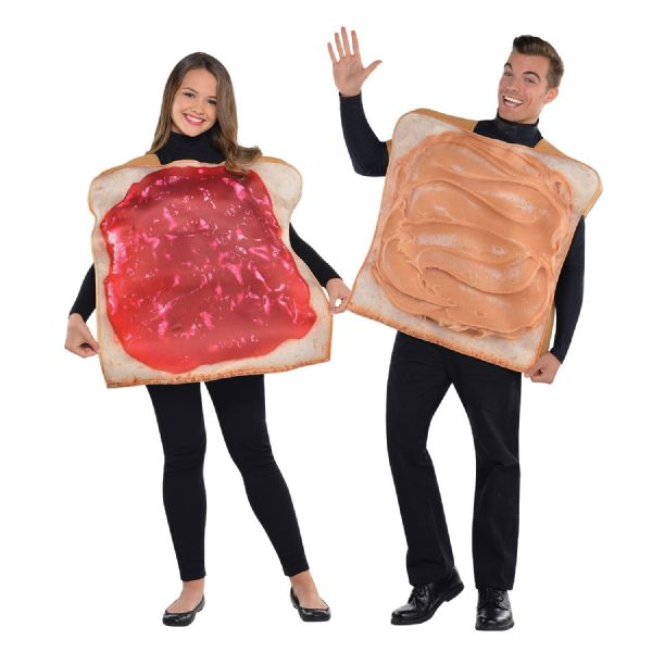 Peanut Butter & Jam Couples Costume (New Coming Soon)
